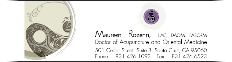 Maureen Rozenn, LAC, DAOM, Doctor of Acupuncture and Oriental Medicine